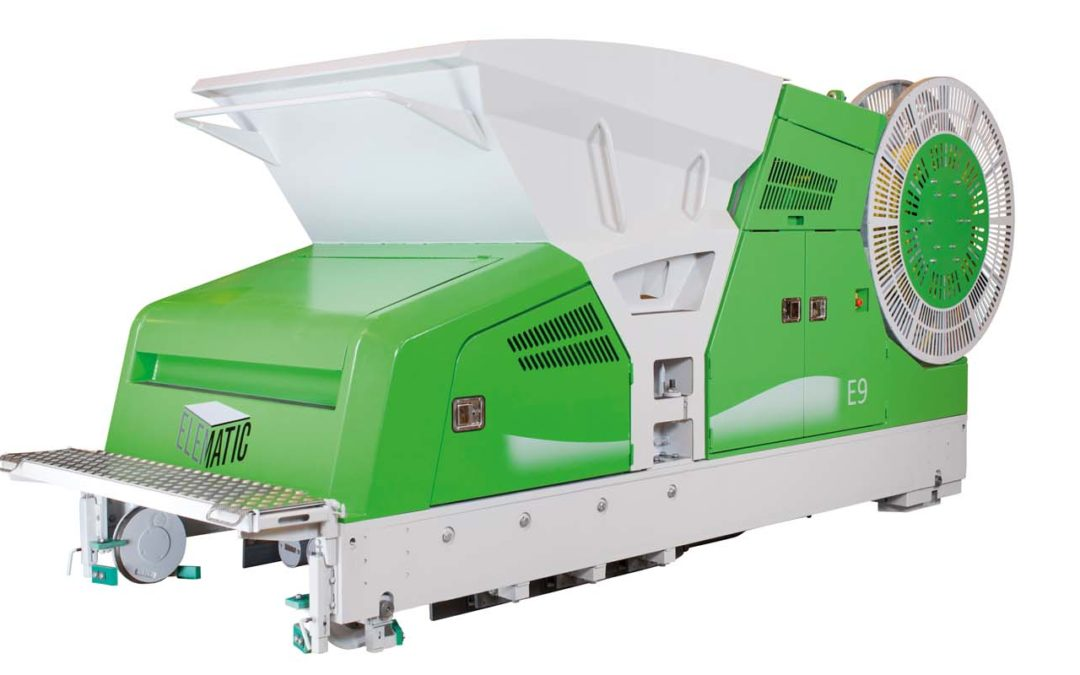 Elematic E9 hollow-core slab extruder